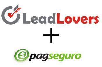 PagSeguro em página de vendas do LeadLovers